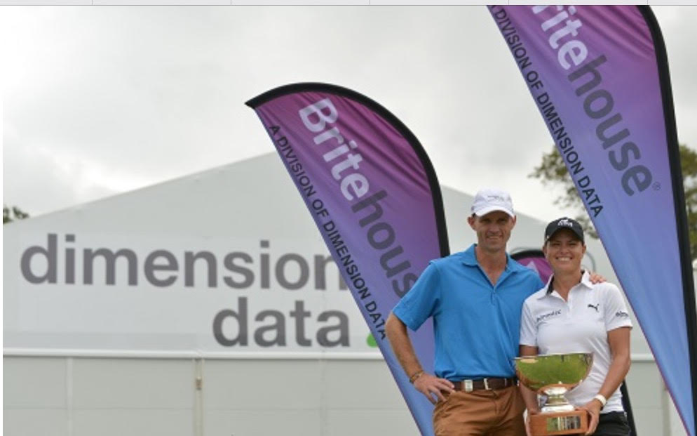 Lee-Anne Pace winner of the 2016 Dimension Data Challenge