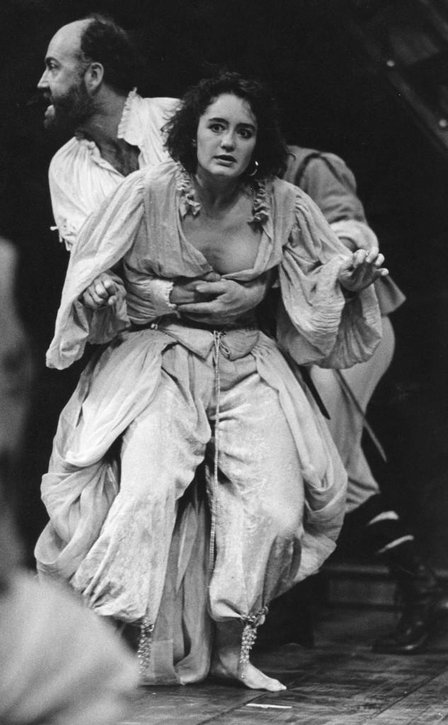 Richard Haines as Iago, me playing Bianca
